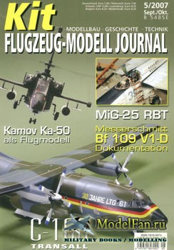 Kit Flugzeug-Modell Journal №5 2007