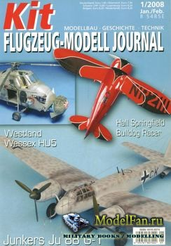 Kit Flugzeug-Modell Journal №1 2008