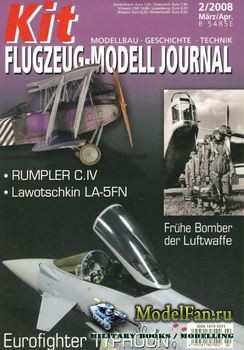 Kit Flugzeug-Modell Journal №2 2008