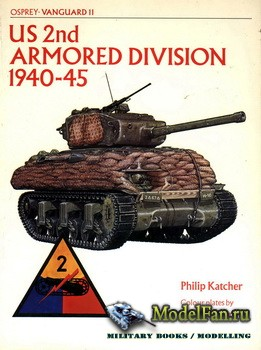Osprey - Vanguard 11 - US 2nd Armoured Division 1940-45