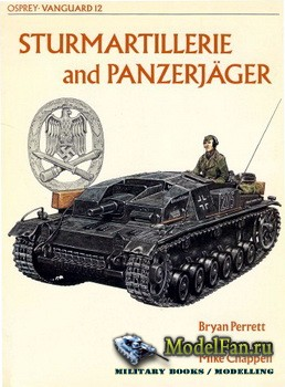 Osprey - Vanguard 12 - Sturmartillerie and Panzerjager
