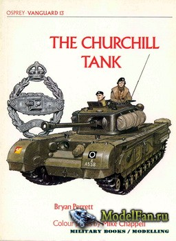 Osprey - Vanguard 13 - The Churchill Tank