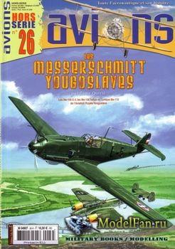 Avions Hors-Serie №26 - Les Messerschmitt Yougoslaves