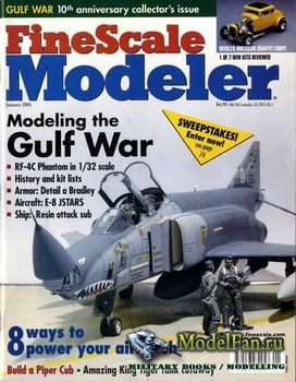 FineScale Modeler Vol.19 №1 (January 2001)
