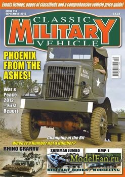 Classic Military Vehicles №136 (September 2012)