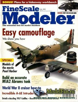 FineScale Modeler Vol.19 №6 (July) 2001