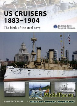 Osprey - New Vanguard 143 - US Cruisers 1883-1904. The birth of the steel navy