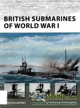 Osprey - New Vanguard 145 - British Submarines of World War I