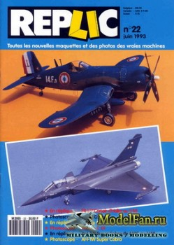 Replic №22 (1993) - F-4U-7 Corsair, Rafale C01, AH-1W Super Cobra