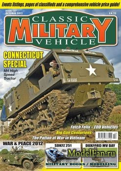 Classic Military Vehicles №137 (October 2012)