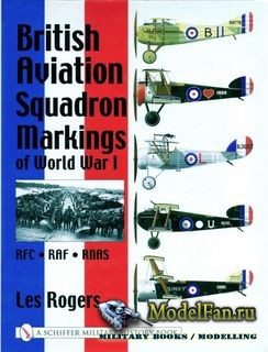 Schiffer Publishing - British Aviation Squadron Markings of World War I