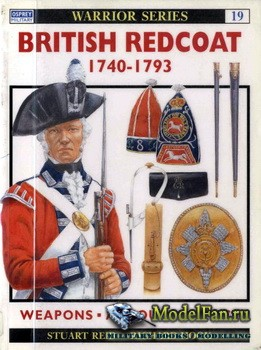 Osprey - Warrior 19 - British Redcoat (1) 1749-1793