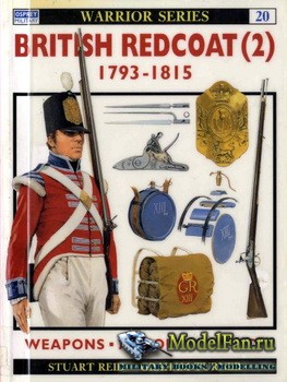 Osprey - Warrior 20 - British Redcoat (2) 1793-1815