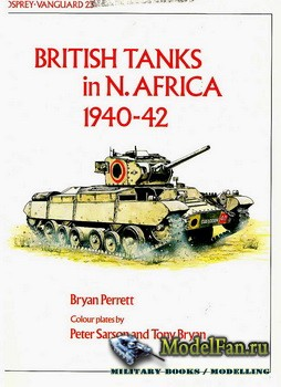 Osprey - Vanguard 23 - British Tanks in N.Africa 1940-42