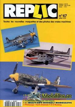 Replic №47 (1995) - Gotha Go-242, Macchi MC-202, P-51D Mustang