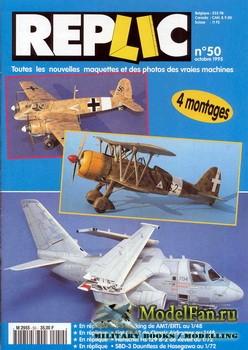 Replic №50 (1995) - S-3A Viking, FIAT GR-42, Henshel Hs-129B-2, SBD-3 Dount ...