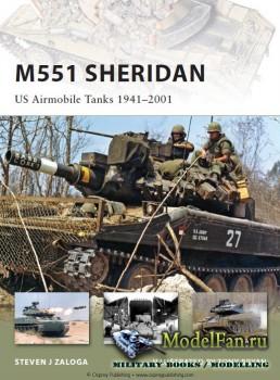 Osprey - New Vanguard 153 - M-551 Sheridan. US Airmobile Tanks 1941–2001