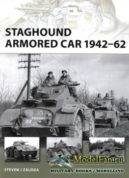 Osprey - New Vanguard 159 - Staghound Armored Car 1942-62