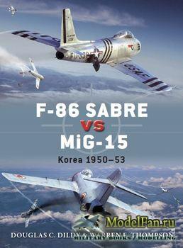Osprey - Duel 50 - F-86 Sabre vs MiG-15: Korea 1950-1953