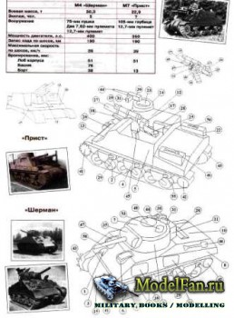 Левша 9/2012 - M7 Priest, M4 Sherman