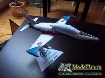 Чехословацкий учебно-боевой самолёт Аэро Л-39 «Альбатрос» / Aero L-39 Albat ...