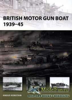 Osprey - New Vanguard 166 - British Motor Gun Boat 1939-45
