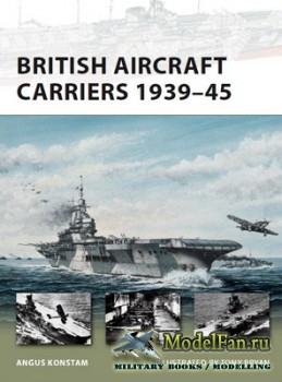 Osprey - New Vanguard 168 - British Aircraft Carriers 1939-45