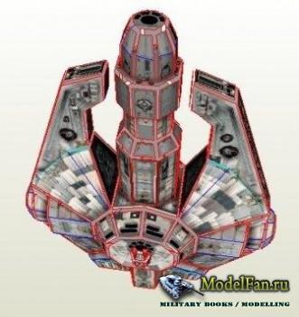Лёгкий грузовой корабль YT-2000 (Star Wars) [Goozy]