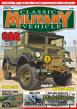 Classic Military Vehicle №8 2013
