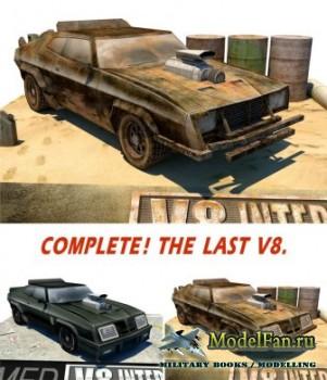 V8 Super Charger Interceptor2 Damaged Version (Mad Max)