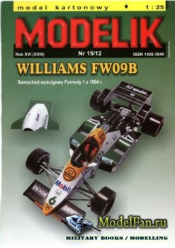 Modelik 15/2012 - Williams FW 09B