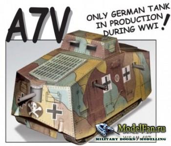 A7V (Sturmpanzerwagen) (Fiddlers Green)