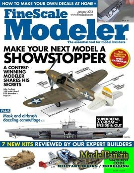 FineScale Modeler Vol.31 №1 (January) 2013