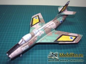Dassault Super Mystère [Отрисовка IAF]
