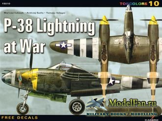 Kagero TopColors 10 - P-38 Lightning at War