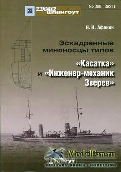 Мидель-Шпангоут №25 - Эскадренные миноносцы типов
