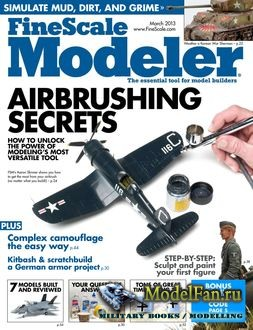 FineScale Modeler Vol.31 №3 (March) 2013