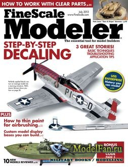 FineScale Modeler Vol.31 №7 (July) 2013