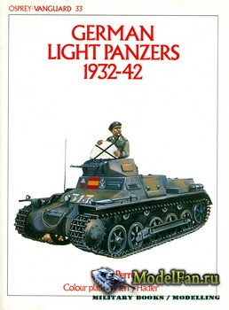 Osprey - Vanguard 33 - German Light Panzers 1932-42