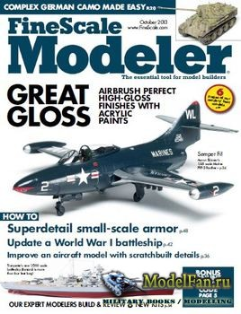 FineScale Modeler Vol.31 №8 (October) 2013
