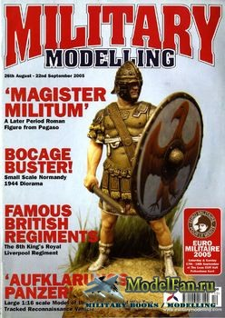 Military Modelling Vol.35 No.10 (August/September 2005)