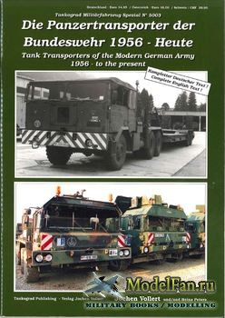 Tankograd 5003 - Tank Transporters of the Modern German Army 1956 to the Present