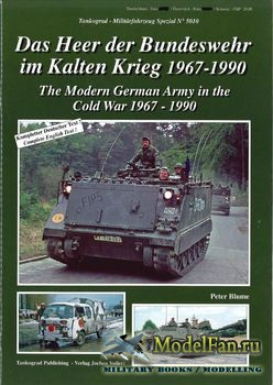 Tankograd 5010 - The Modern German Army in the Cold War 1967-1990