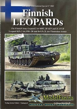 Tankograd 8005 - Finnish Leopards