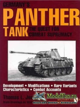 Germany's Panther Tank (Thomas L. Jentz)