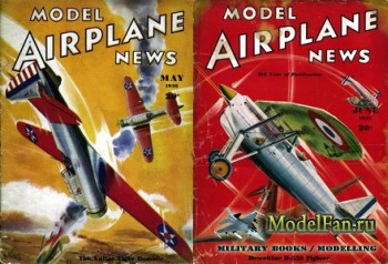Model Airplane News (May 1936, June 1936)