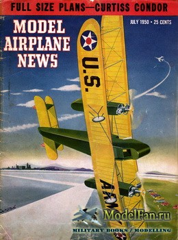 Model Airplane News (July 1950)
