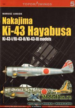 Kagero Topdrawings №5 - Nakajima Ki-43 Hayabusa