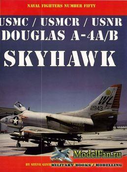 Naval Fighters №50 - Douglas A-4A/B USMC/USMCR/USNR Skyhawk
