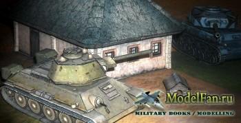 World of Tanks №013/1 - Т-34 и диорама «Прохоровка» своими руками